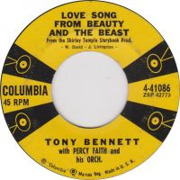Cover Tony Bennett with Percy Faith And His Orchestra - Love Song From Beauty And The Beast