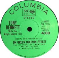 Cover Tony Bennett with The Ralph Sharon Trio - On Green Dolphin Street