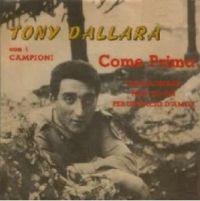 Cover Tony Dallara - Come prima