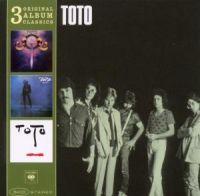 Cover Toto - 3 Original Album Classics