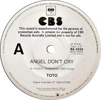 Cover Toto - Angel Don't Cry