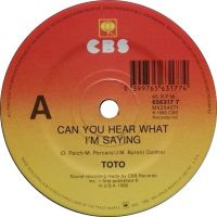 Cover Toto - Can You Hear What I'm Saying