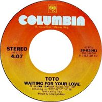 Cover Toto - Waiting For Your Love
