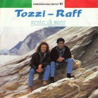 Cover Tozzi - Raff - Gente di mare