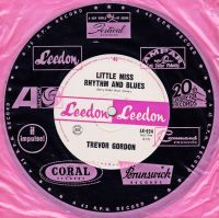 Cover Trevor Gordon And The Bee Gees - Little Miss Rhythm And Blues