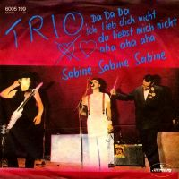 Cover Trio - Da da da ich lieb dich nicht du liebst mich nicht aha aha aha