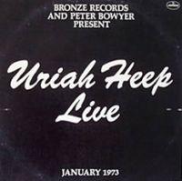 Cover Uriah Heep - Live - January 1973