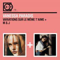 Cover Vanessa Paradis - Variations sur le même t'aime + M & J