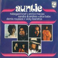 Cover Vicky Leandros, Demis Roussos, Sandra & Andres, Enrico Macias, Hildegard Knef & Alice Babs - Auntie