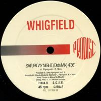 Cover Whigfield - Saturday Night