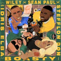 Cover Wiley x Sean Paul x Stefflon Don / Idris Elba - Boasty
