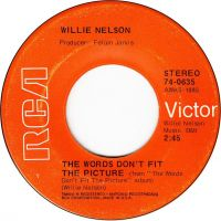 Cover Willie Nelson - The Words Don't Fit The Picture