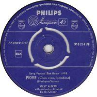 Cover Willy Alberti - Piove (ciao ciao bambina)