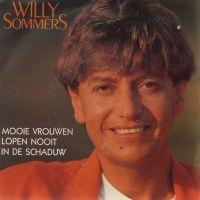Cover Willy Sommers - Mooie vrouwen lopen nooit in de schaduw