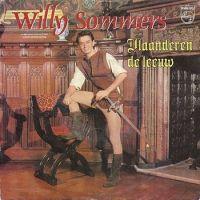 Cover Willy Sommers - Vlaanderen de leeuw