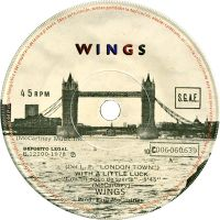 Cover Wings - With A Little Luck