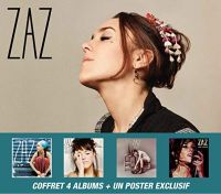 Cover Zaz - Coffret 4 albums