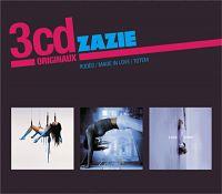 Cover Zazie - 3cd originaux: Rodéo / Made In Love / Totem