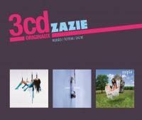 Cover Zazie - 3cd originaux: Rodéo / Totem / Za7ie