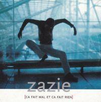 Cover Zazie - Ça fait mal et ça fait rien