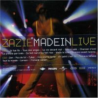 Cover Zazie - Made In Live