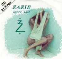 Cover Zazie - Sucré, salé