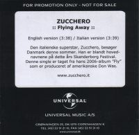 Cover Zucchero Sugar Fornaciari - Flying Away