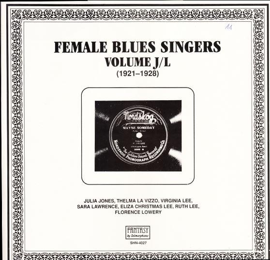 ultratop be - Female Blues Singers Volume J/L (1921 - 1928)