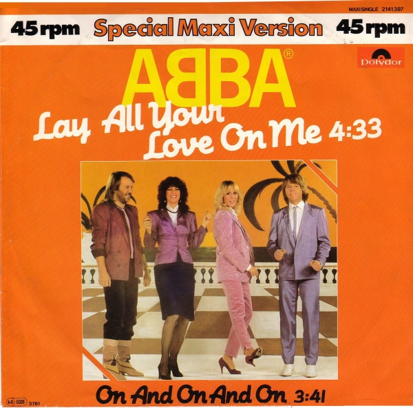 ultratop.be ABBA Lay All Your Love On Me