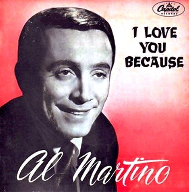 Ultratopbe Al Martino I Love You Because