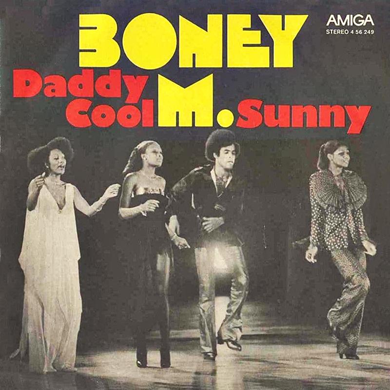 Boney m daddy cool sheet music for guitar, alto saxophone.