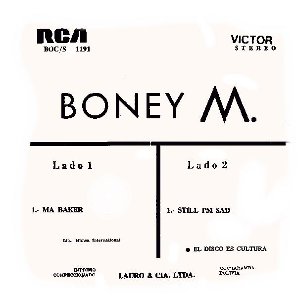 ultratop be - Boney M  - Ma Baker