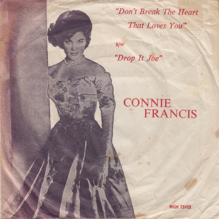Ultratopbe Connie Francis Dont Break The Heart That Loves You