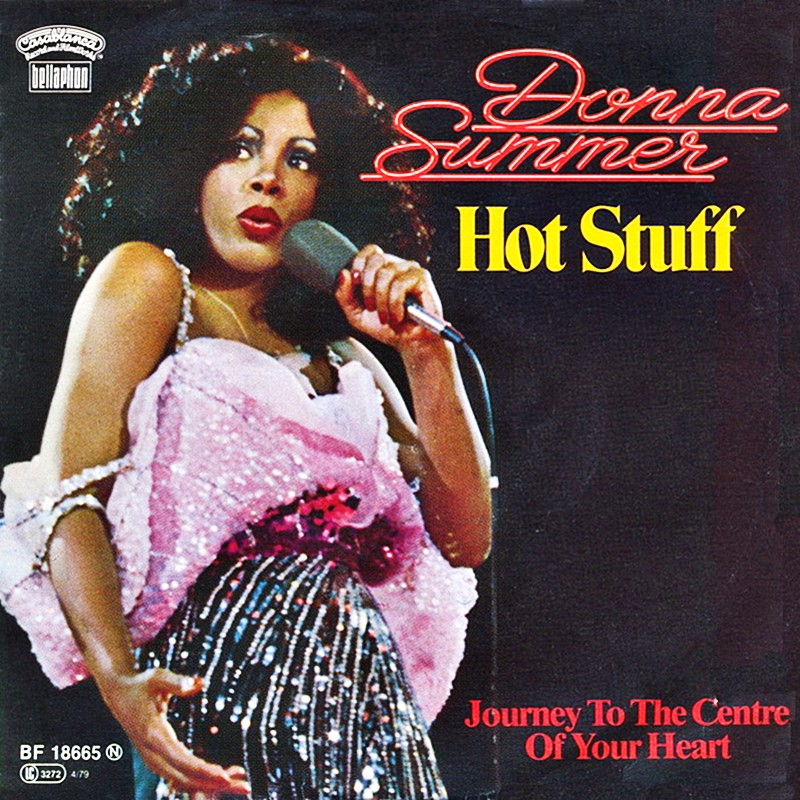Image result for DONNA SUMMER HOT STUFF SINGLE IMAGES