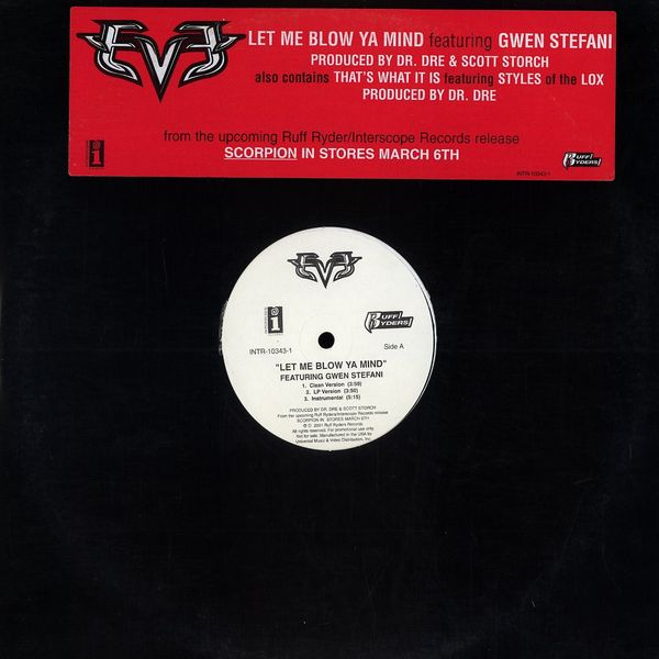 ultratop be - Eve feat  Gwen Stefani - Let Me Blow Ya Mind