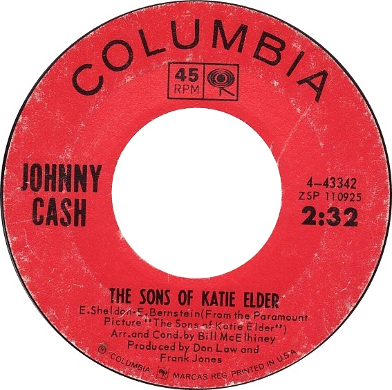 Ultratopbe Johnny Cash The Sons Of Katie Elder