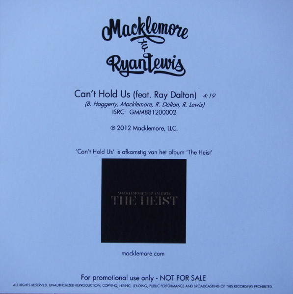 Macklemore can't hold us [free download] youtube.