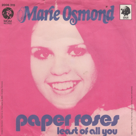 marie osmond paper roses song download