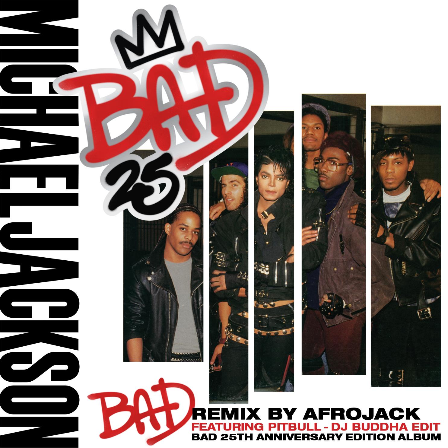 ultratop be - Michael Jackson feat  Pitbull - Bad (Afrojack Remix)