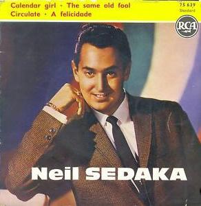 Neil Sedaka Calendar Girl.Ultratop Be Neil Sedaka Calendar Girl