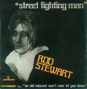 Rod Stewart Street Fighting man single