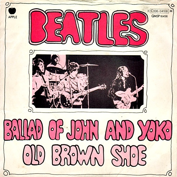 Ultratopbe The Beatles The Ballad Of John And Yoko