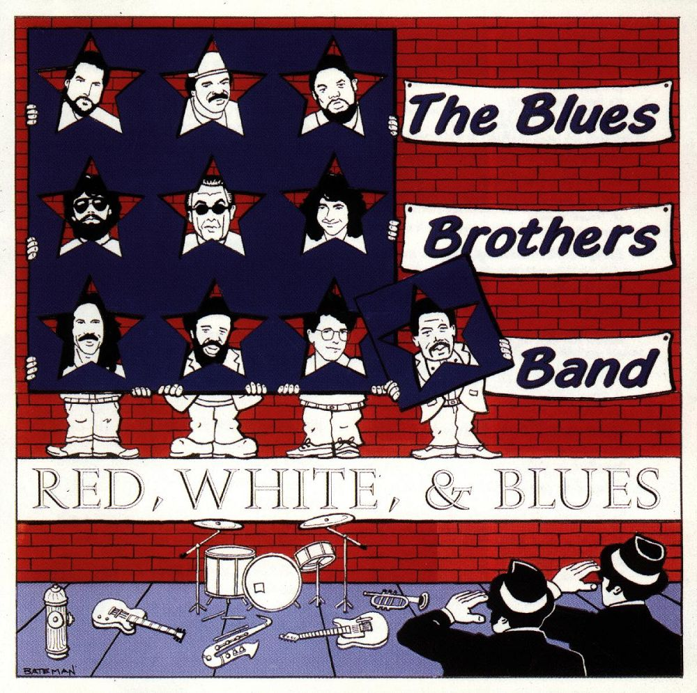 Ultratopbe The Blues Brothers Band Red White Blues