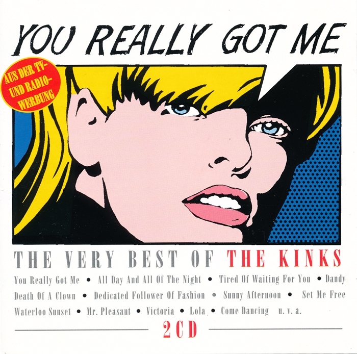 Ultratopbe The Kinks You Really Got Me The Very Best Of The Kinks