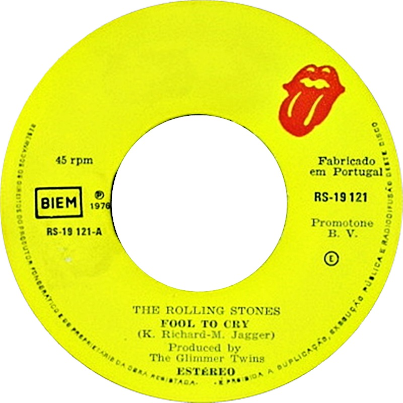 ultratop be - The Rolling Stones - Fool To Cry